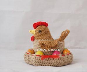 Curso gratis: Tejer a crochet Gallina amigurumi paso a paso