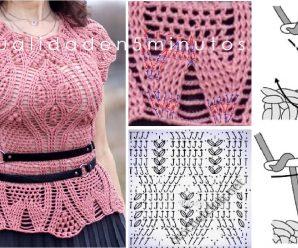Como hacer una BLUSA Divina a Crochet CURSO GRATUITO Paso a Paso