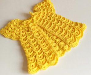Aprende a tejer este hermoso VESTIDO A CROCHET