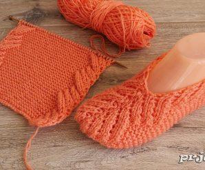 Te enseñamos a tejer ZAPATILLAS a crochet