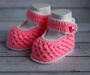 Tutorial para Tejer Lindos botines a Crochet