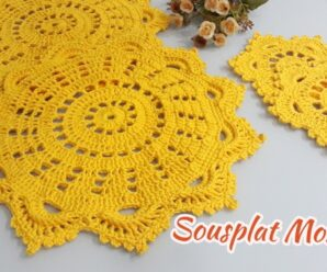 Como Tejer Hermoso Tapete a Crochet