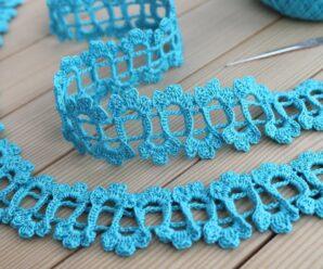 Bordes para ENCAJE IRLANDES a Crochet Paso a paso