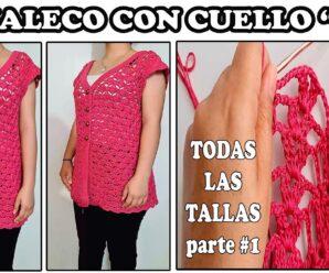 Chaleco Elegante Tejido a Crochet + Patrones Gratis